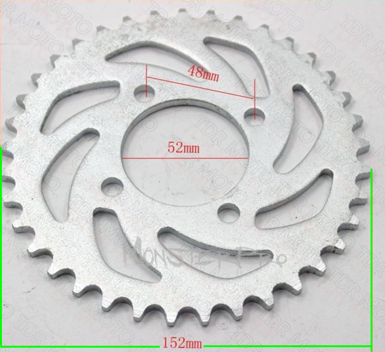37T 420 Rear Sprocket Cog for Motorbike Thumpstar Atomic Dirt Bike