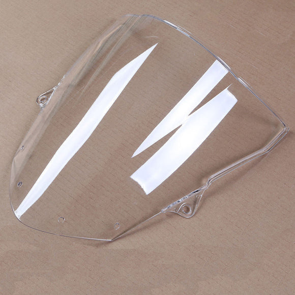 Clear Windscreen Windshield for Kawasaki ZX6R 2009 - 2014 ZX10R 2008 2009 2010