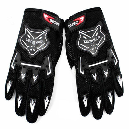 Adult Motocross MX Racing Gloves Off Road Riding Dirt Pit Trail Bike Atomik New Black