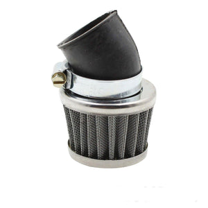 35mm Chrome Angled Motorcycle Pod Air Filters for ATV Quad Pit Dirt Bike Buggy