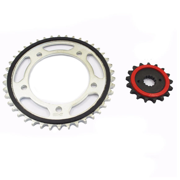 Front / Rear Sprocket 17T / 42T Fit Suzuki 2007 2008 07 08 GSXR1000 530 Chain