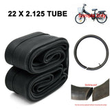 "MONSTEPRO 22"" Bicycle Bike Electric Bike Cycle Inner Tube 22 x 1.75 - 2.125 Tube"