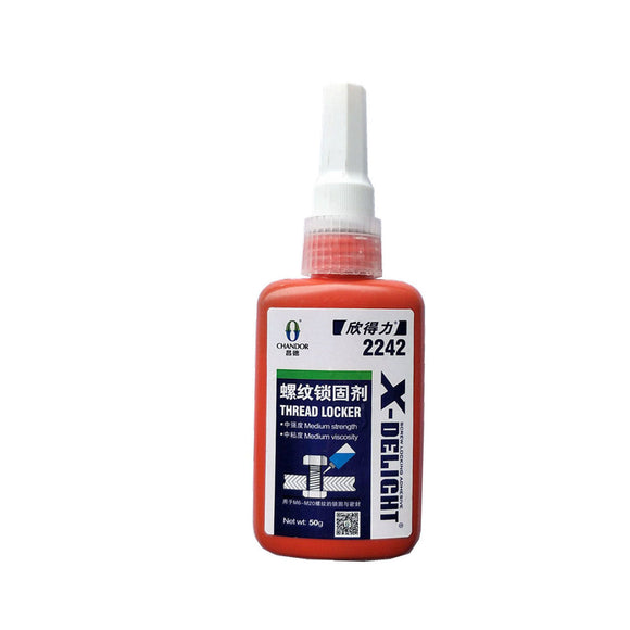 1x MED Blue Threadlocker Replace Loctite Instant Adhesive Industrial Super Glue