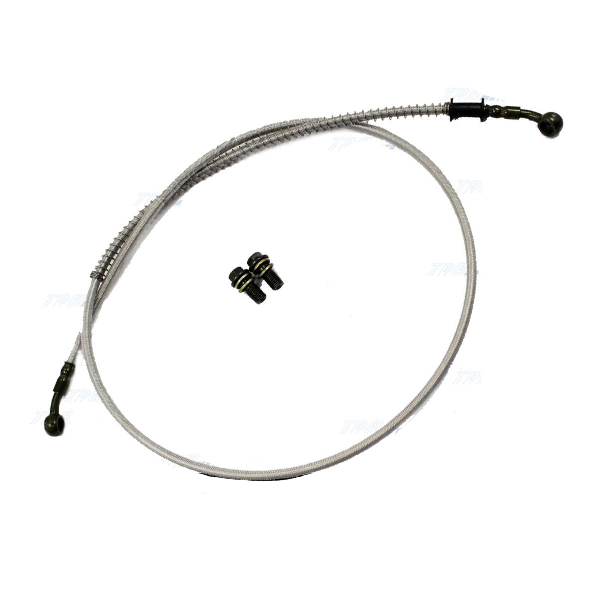 1300mm Motorcycle/Quad Bike/Bugy/GoKart Hydraulic Brake Line Hose Cable with M10 Banjo
