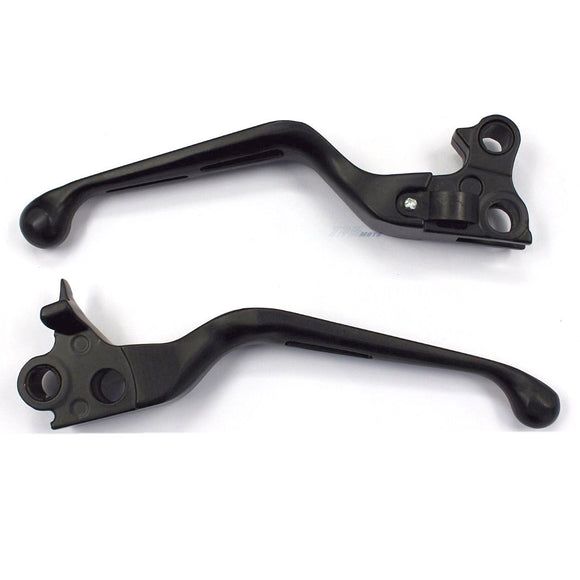 Brake & Clutch Levers Black For Harley 1996/1997/1998/1999/2000/2002/2003 XL
