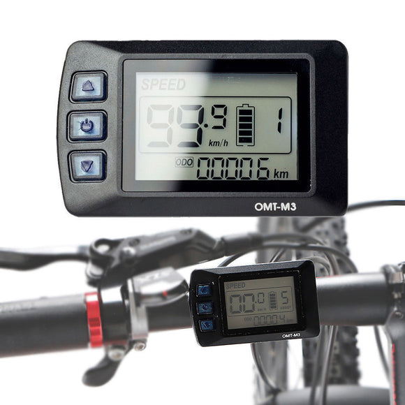 48V 1000W eBike Speed LCD Display Panel Electric Bicycle Controller Ebike