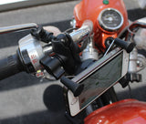 Universal Motorcycle Motorbike Mirror Mount Holder X shape Grips Stand phone GPS
