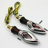 4x Mini LED Indicators Motorcycle Motorbike LED Blinkers For Yamaha Honda Suzuki