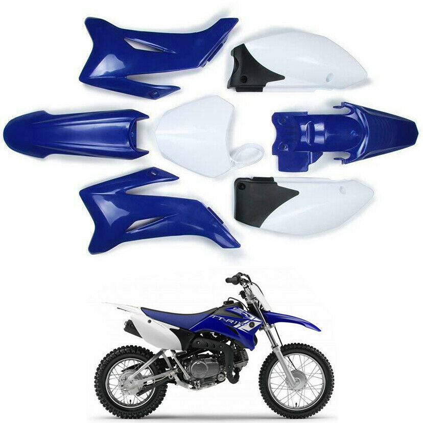 FOR YAMAHA TTR110 NOT TTR125 BLUE PLASTICS KIT 140/150 CC DIRT BIKE ATOMIK DHZ