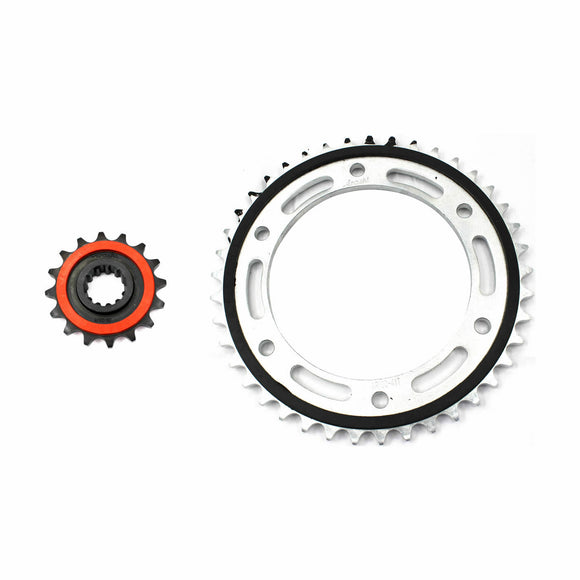 Honda CBR600RR FRONT REAR SPROCKET KIT 4 CBR 600 2007 2008 2009 2010 2011 2012