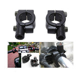 "22mm Motorcycle 7/8"" HandleBar Mirror Mount Honda Yamaha Kawasaki Dirt Pit Bike"