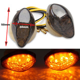 2pcs LED Flush Mount Signal Indicators Light Blinker Honda Dirt bike motorcycle