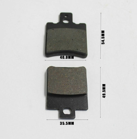 Caliper Disc Brake Pad Set For 50cc 70cc 90cc 110cc 125cc 150cc 200cc 250cc Quad ATV Dirt Pit Pro Bike - TA028