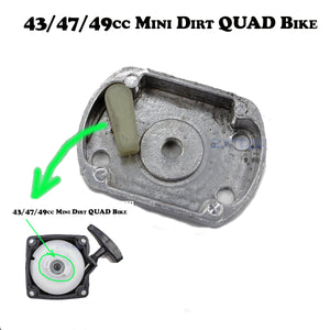 Pull Starter Start Catch Unit Catcher Pawl Cog Plate 43/47/49/52cc Pocket Bike
