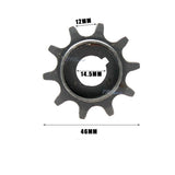 10T Clutch Gear Drive Sprocket Fit 49cc/66cc/80cc Motorized Bicycle Engine Parts