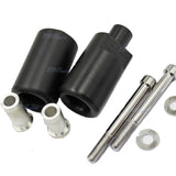 Black Frame Sliders Crash Protector Knob for 2004 2005 Suzuki GSXR 600 GSX-R600