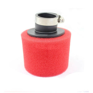 Red 35mm Pod Foam Air Filter Cleaner 110cc 70cc PIT PRO Quad Dirt Bike ATV Buggy