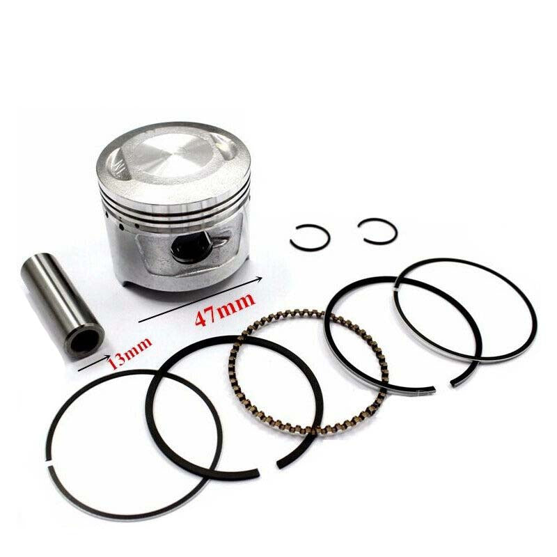 NEW PISTON + RINGS For Thumpstar Atomik PIT PRO 50/70/90cc Dirt Trail Pit Bike