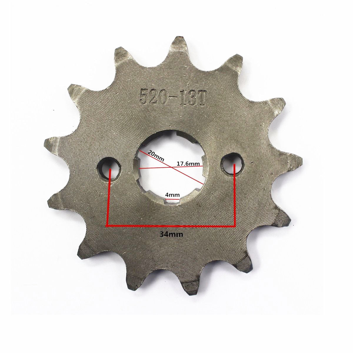 13T 20mm Front Engine Sprocket For 110cc 125cc KTM Rocket Honda Lifan 520 Chain