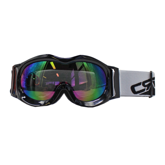 New KIDS Boys Girls Ski Black Goggles for Motocross Snow Ski Quad Moto Bikes