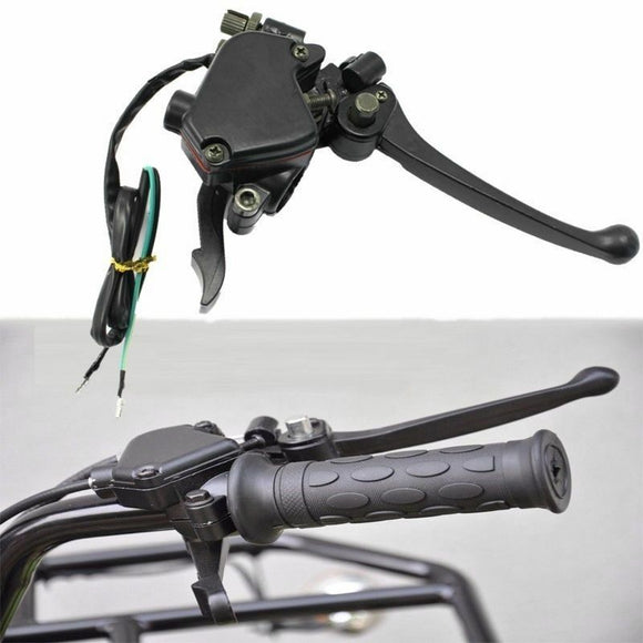 BRAKE LEVER with THUMB THROTTLE ASSEMBLY 50/70/110/125/150/250cc ATV Quad Bike
