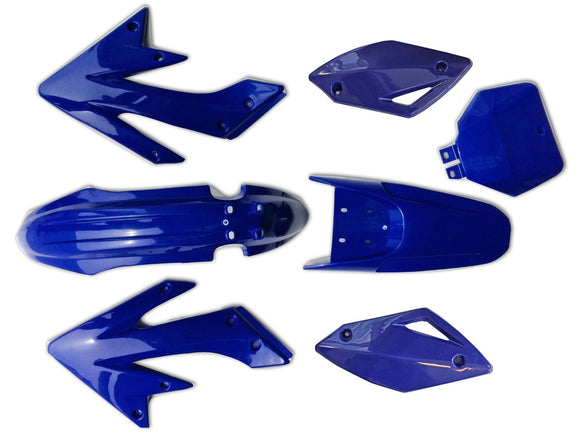Blue Plastic Fender Fairing Kit for Hummer 200cc 250cc Zongshen Atomik Dirt Bike