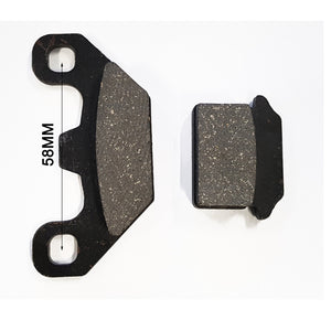 Caliper Disc Brake Pad Set For 50cc 70cc 90cc 110cc 125cc 150cc Quad ATV Dirt Pit Pro Bike - TA026