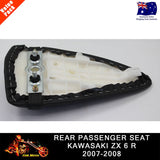 For Kawasaki Ninja zx6r 2007 2008 Ninja ZX6R Rear Passenger Seat Cover Pillion