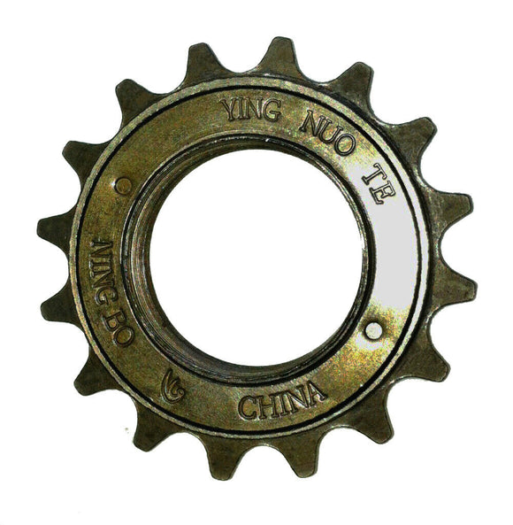16T Teeth 34MM Single Speed Freewheel Flywheel Sprocket Bicycle Bike Gear