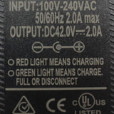 36V 2A 5.5mm Australian Plug AU E-bike electric bicycle Lithium Charger