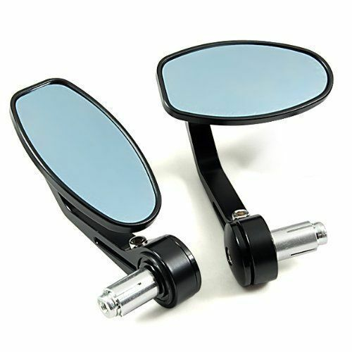 BAR END REAR VIEW SIDE MIRRORS MOTORCYCLE FOR Triumph Street Triple 675 R 07-10
