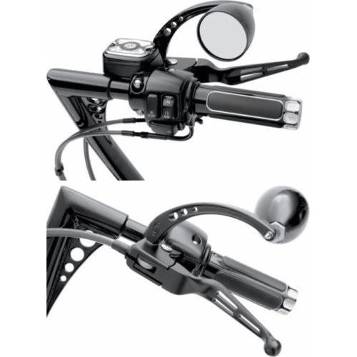 Black Brake & Clutch Levers Set for Harley Davison Street Glide FLHX 2010