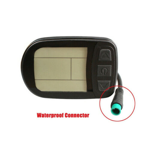 KT-LCD5 LCD Panel Display Intelligent Control for 24V 36V 48V Electric Bike E-Bike Ebike Electric Scooter E-Bicycle