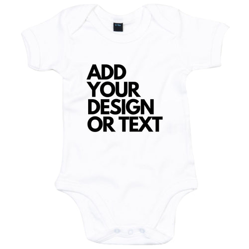 Add Your Design Or Text Personalised Babygrow