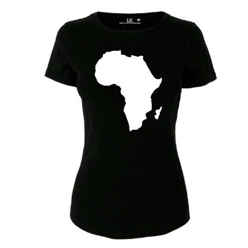 Women's Africa Map TShirt