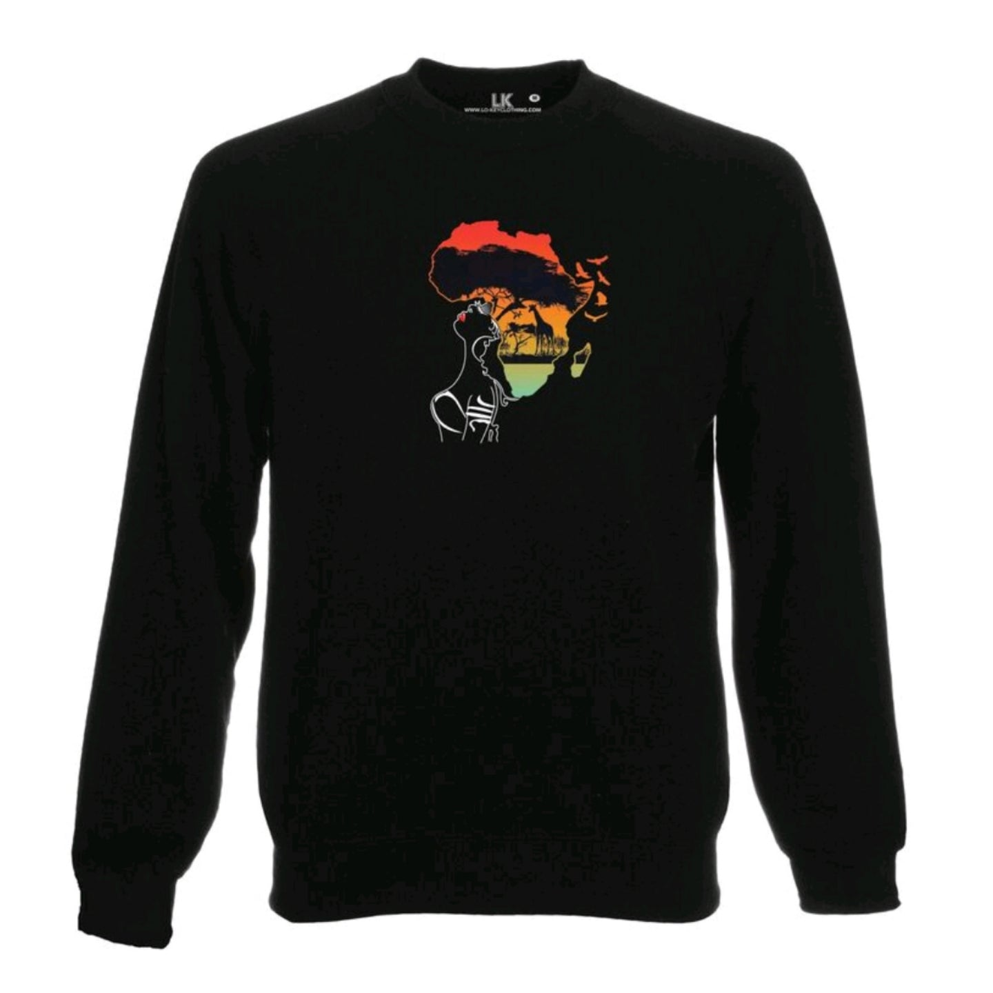 Women's Africa Sunset Sweatshirt