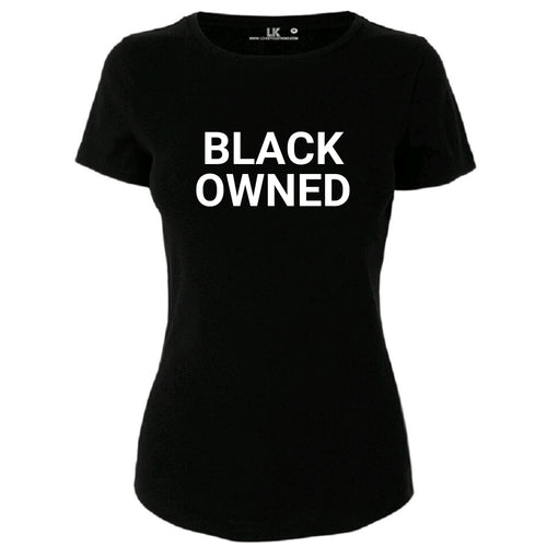 Black Owned womens tee