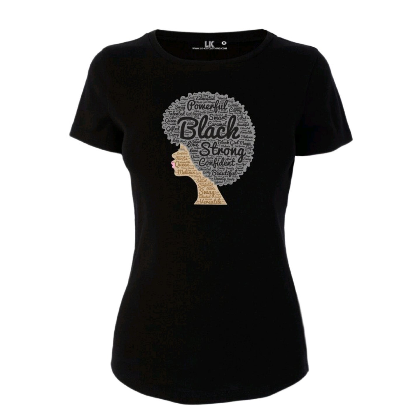 Women's Black Afro T/Shirt
