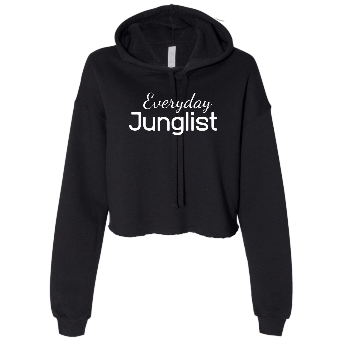Ladies Everyday Junglist Cropped Hooded Sweater