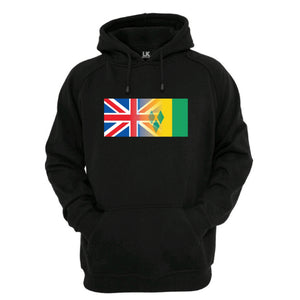 England and St Vincents Hoodie Men's Womens