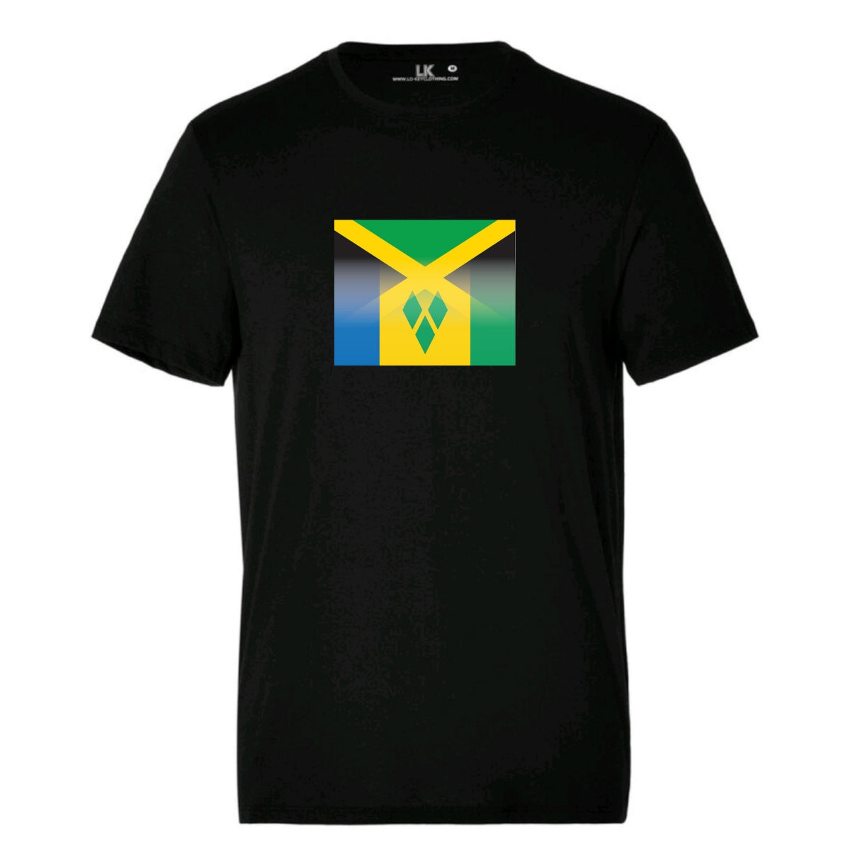 Jamaica and St Vincents tshirt