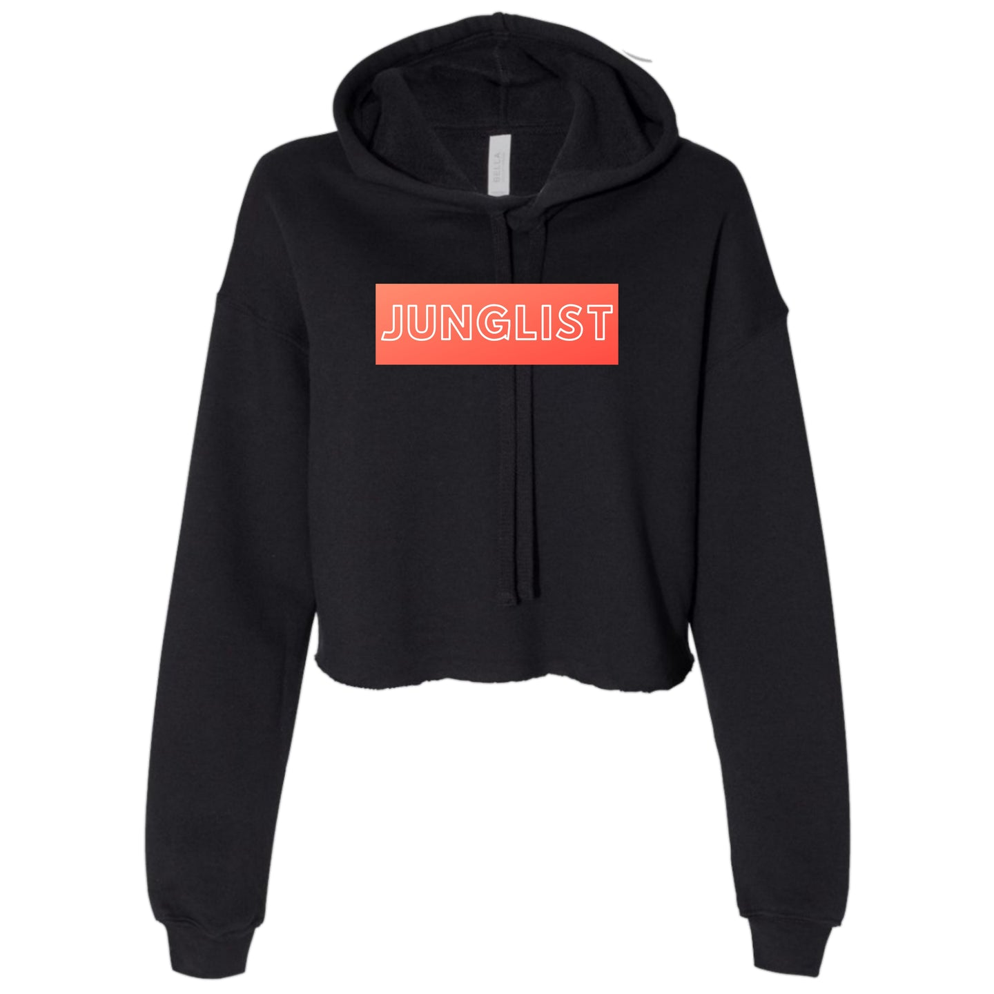 Ladies Junglist Cropped Hooded Sweater