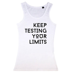 Keep Testing Your Limits Vest Womens