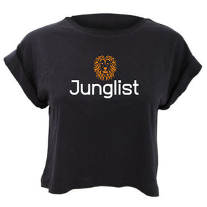Lion Junglist Cropped TShirt Loose Fit