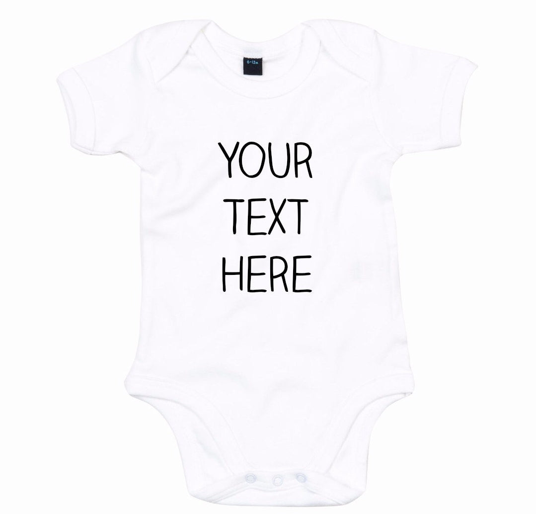 Create Your Own Personalised Babygrow