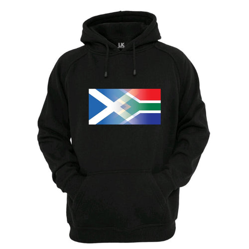 Scotland and South Africa Mixed Heritage Flag Hoodie