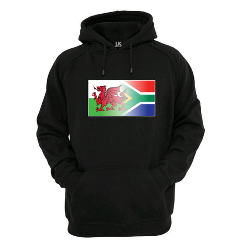 Welsh & South Africa Flag Blend Hoodie