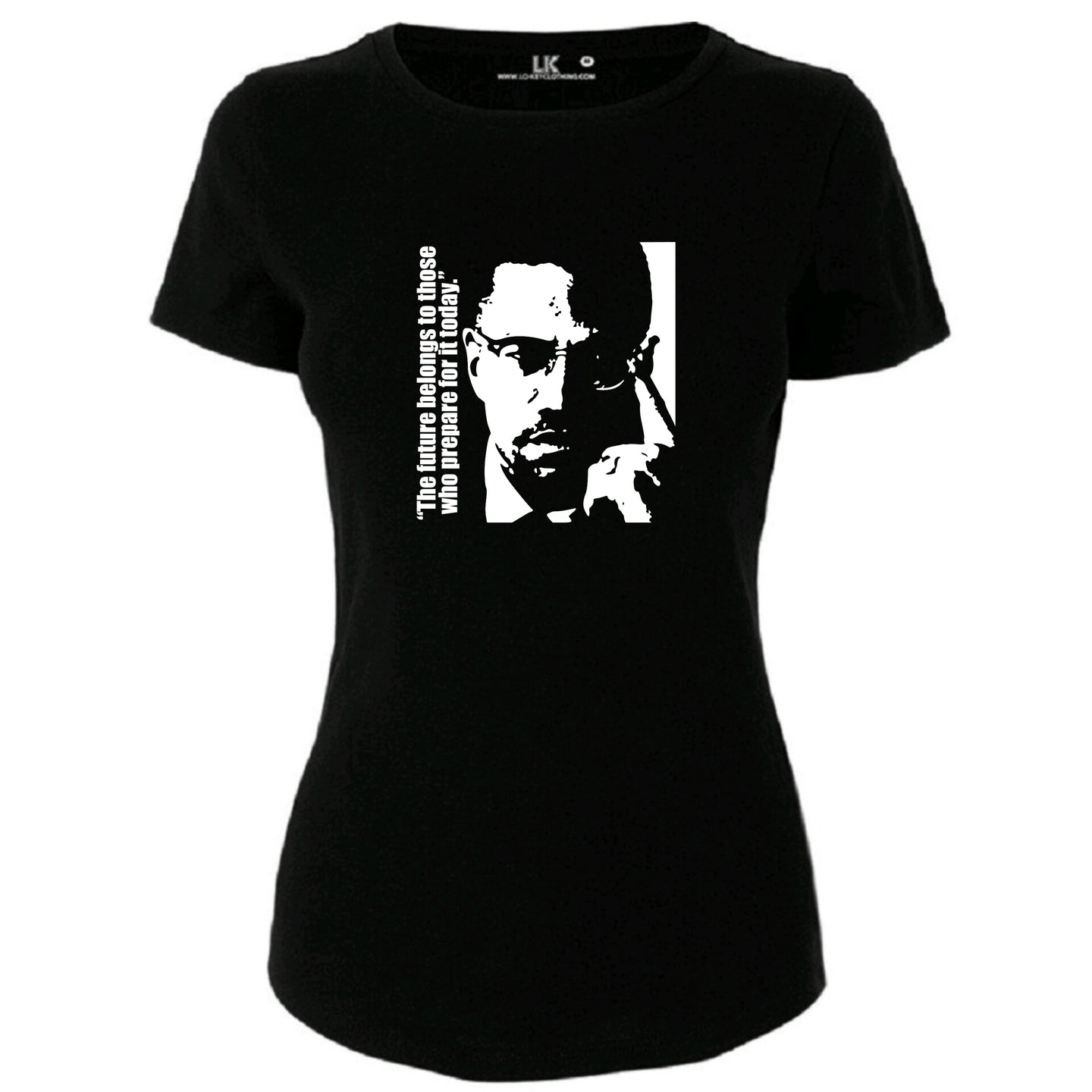 Ladies Malcolm X T/Shirt