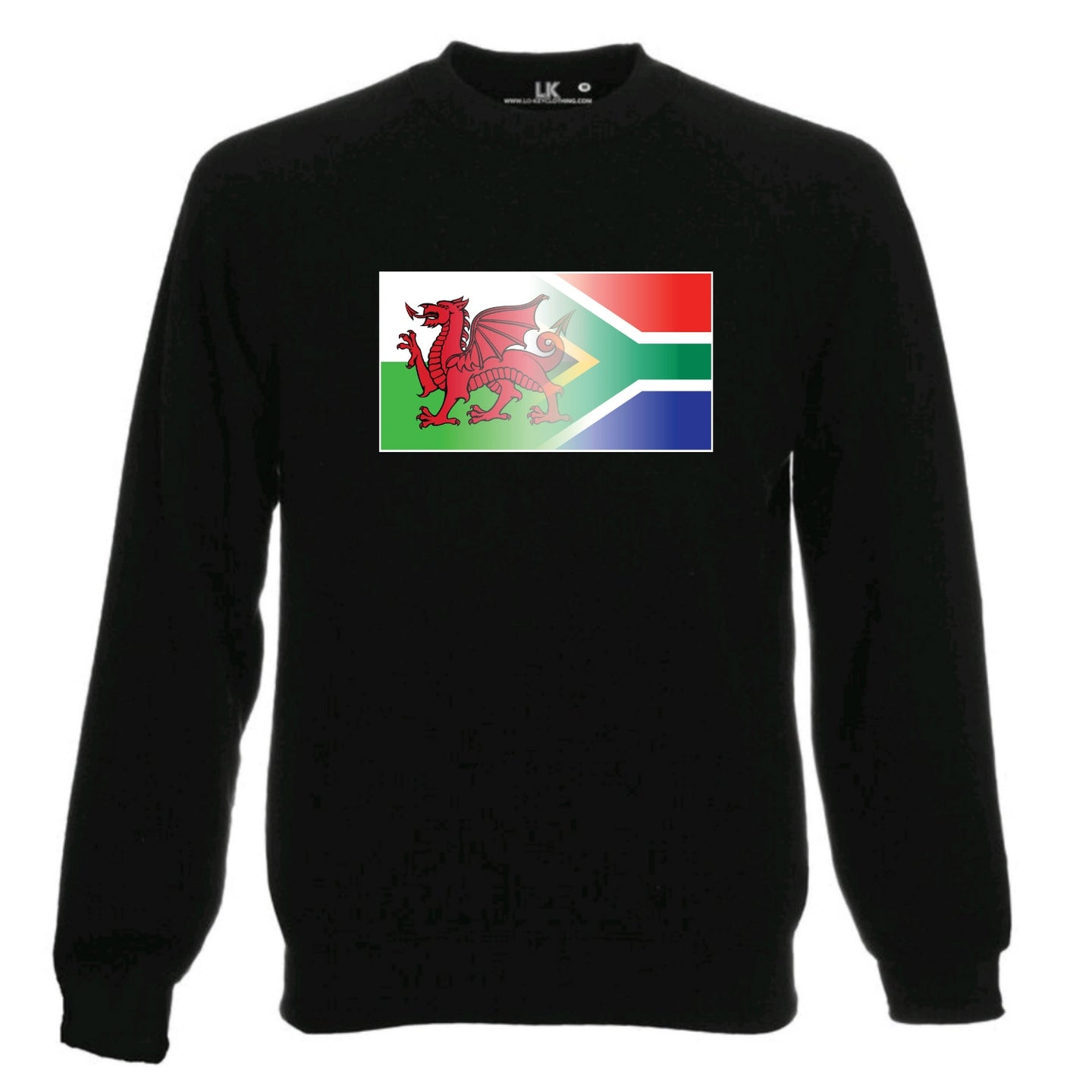 Welsh & South Africa Flag Blend Sweatshirt