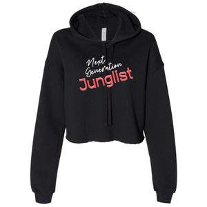 Ladies Next Generation Junglist Cropped Hooded Sweater